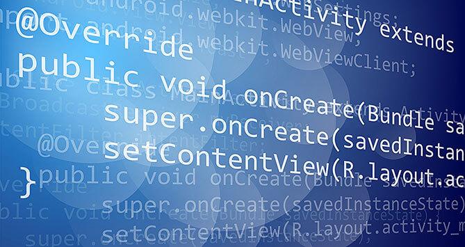Programmation et développement de code html et javascript