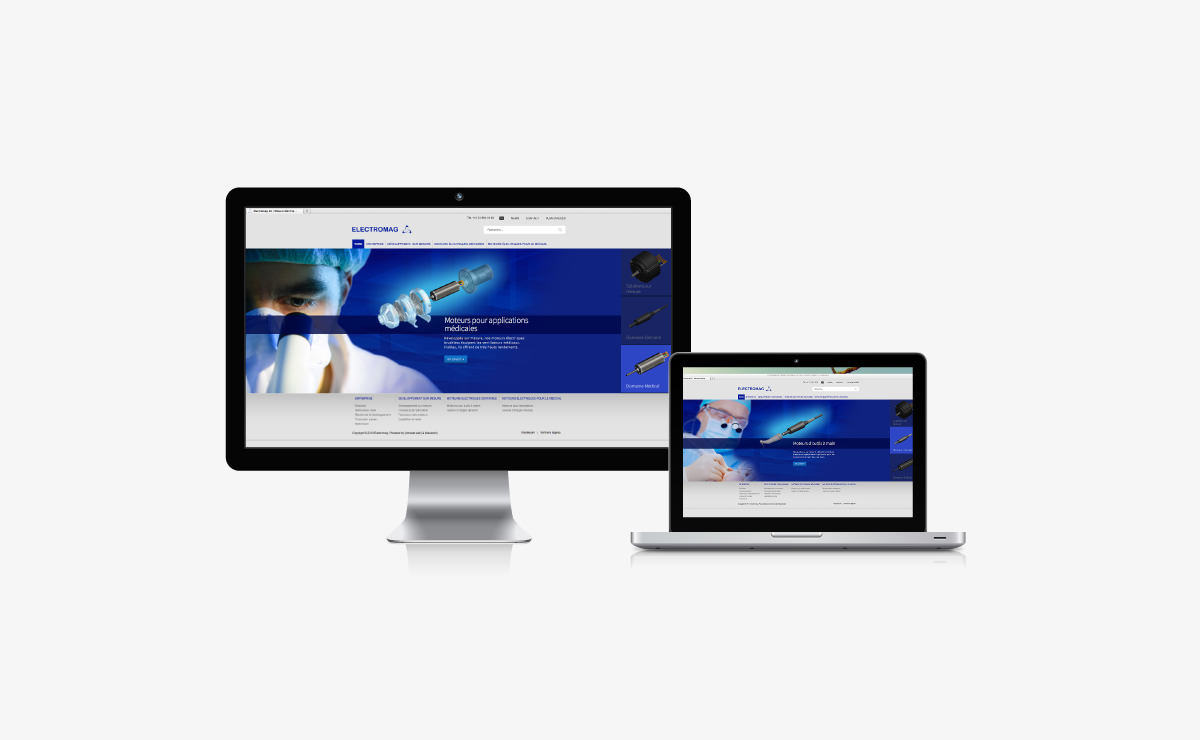 Site de l'entreprise Electromag