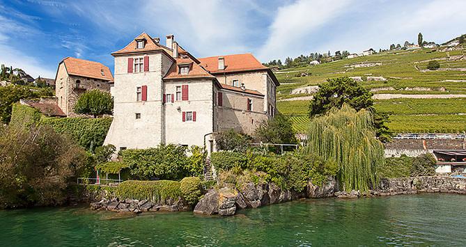 Lavaux Unesco, Rivaz