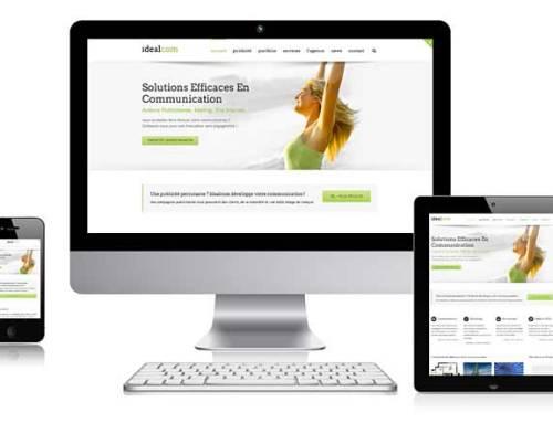 Nouveau site internet d'Idealcom