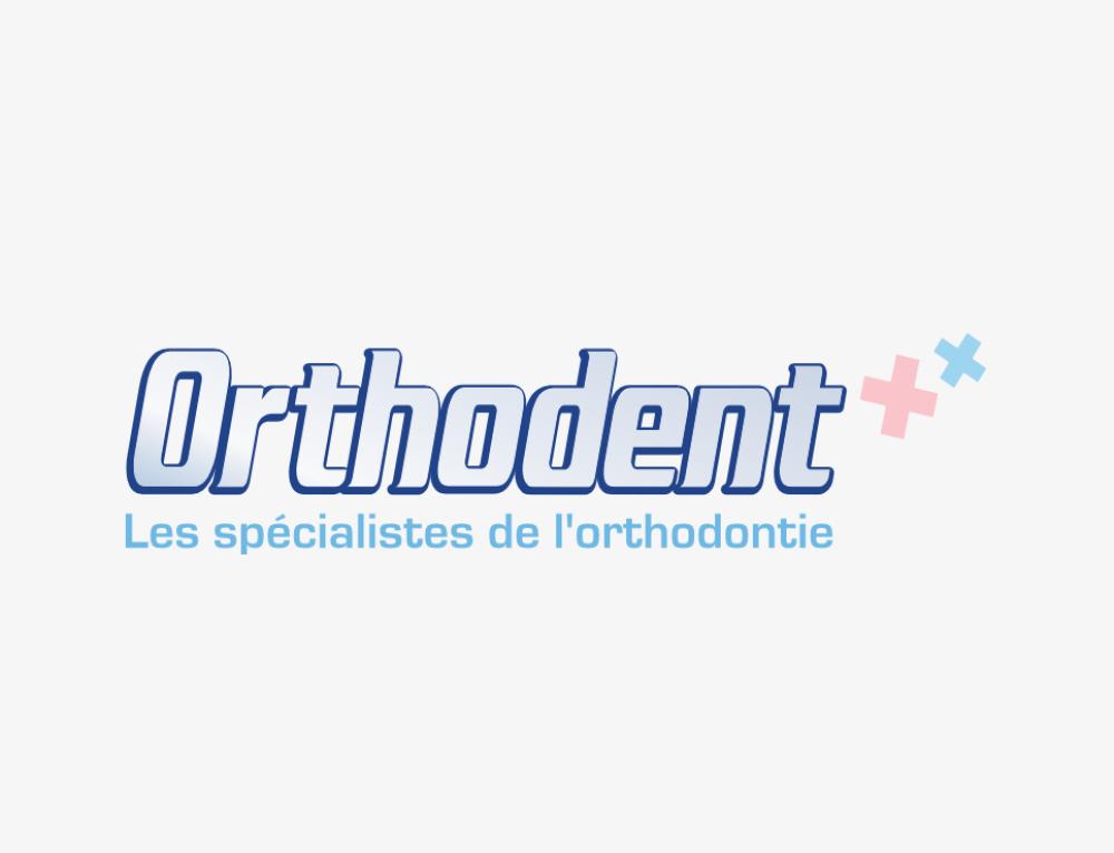 Orthodent : création du nom de marque et du logo