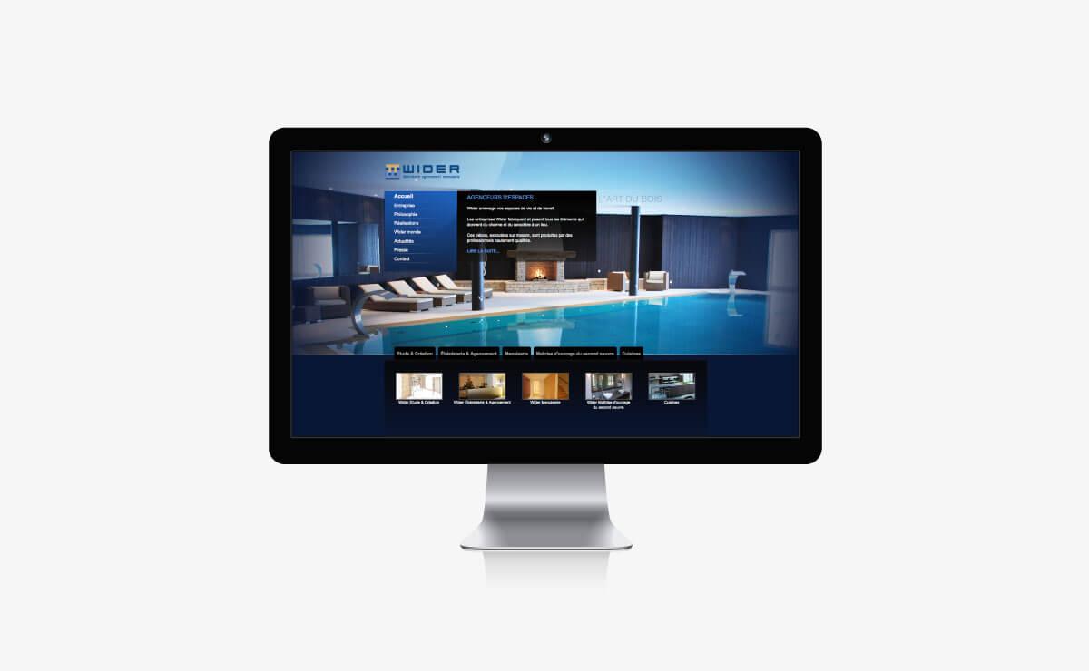 Wider : marketing d'entreprise et site internet