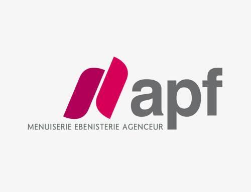 APF Menuiserie SA : création du logo et du corporate design