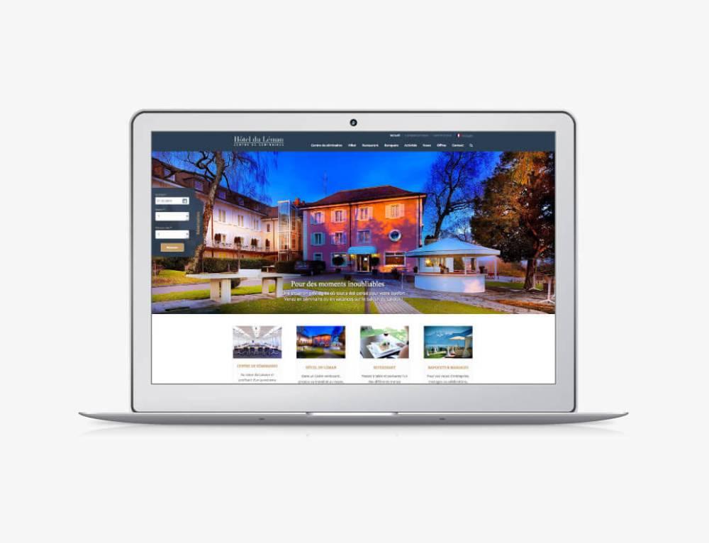Création du site internet de l'Hôtel