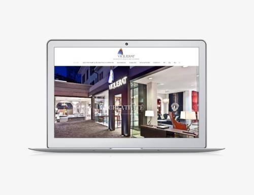 Site internet de Viquerat Décoration & Architecture d'Intérieur SA