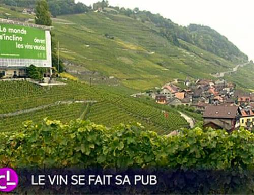 Reportage de la RTS : le vin se fait sa pub