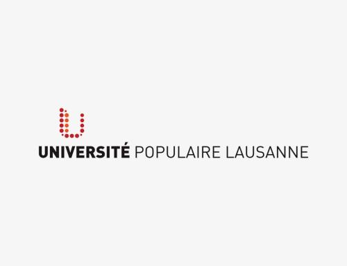 Université Populaire Lausanne : création du logo et du corporate
