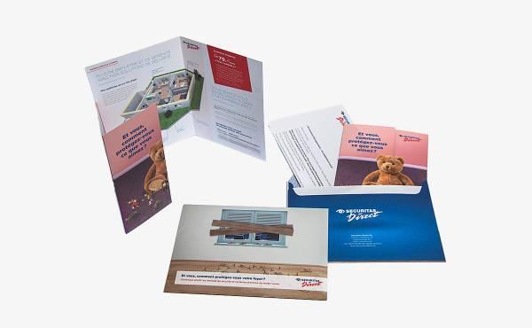 Mailing allemand français pour Securitas Direct SA
