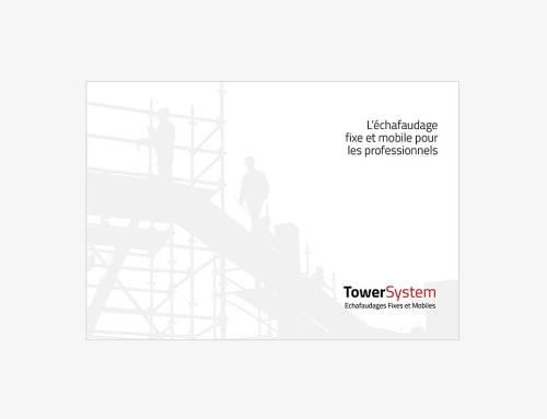 Campagne de communication : brochure d'entreprise